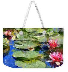 Waterlilies From Giverny Weekender Tote Bag