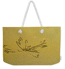Waterlily By S. Crab Weekender Tote Bag by Jocelyn Kahawai