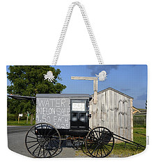 Watermelon Wagon Weekender Tote Bag