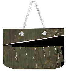 Weekender Tote Bag featuring the photograph Waterworks by Charlotte Schafer