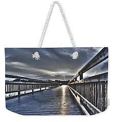 Watson Bayou Pier Hdr Weekender Tote Bag