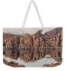 Watson Lake Tranquility Weekender Tote Bag