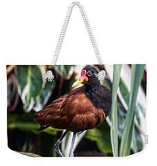 Wattled Jacana Weekender Tote Bag