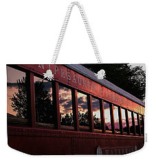 Waukewan Train Weekender Tote Bag