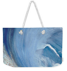 Wave Break Weekender Tote Bag by Heather  Hiland