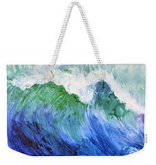 Wave Dream Weekender Tote Bag by Joan Hartenstein