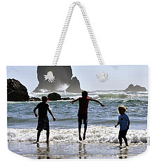 Wave Jumping 25614 Weekender Tote Bag