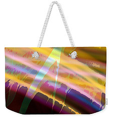 Wave Light Weekender Tote Bag