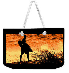 Weekender Tote Bag featuring the photograph Wave Search by Ian  MacDonald
