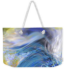 Weekender Tote Bag featuring the digital art Wave Theory by Richard Thomas