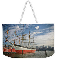 Weekender Tote Bag featuring the photograph Wavertree by Ben Shields
