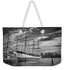 Weekender Tote Bag featuring the photograph Wavertree In Monochrome by Ben Shields