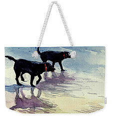 Waverunners Weekender Tote Bag by Molly Poole