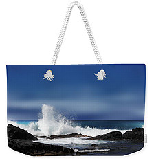 Weekender Tote Bag featuring the photograph Waves by Athala Carole Bruckner
