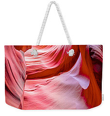 Waves Of Redrock Weekender Tote Bag