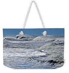 Waves Off Sandfiddler Rd Corolla Nc Weekender Tote Bag