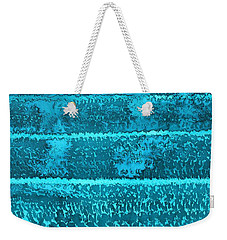 Waves Original Painting Weekender Tote Bag
