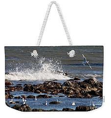 Waves Wind And Whitecaps Weekender Tote Bag