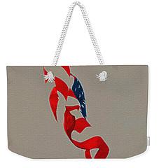 Waving Weekender Tote Bag by Lydia Holly