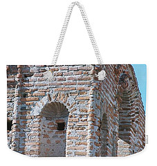 Weekender Tote Bag featuring the photograph Waving To The Sky by Kerri Mortenson