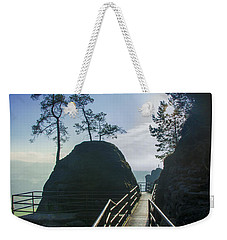 Way Into The Light On Neurathen Castle Weekender Tote Bag