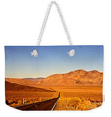 Way Open Road Weekender Tote Bag by Byron Varvarigos