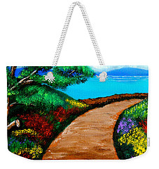 Way To The Sea Weekender Tote Bag by Cyril Maza