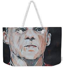 Wayne Rooney Weekender Tote Bag by John Halliday