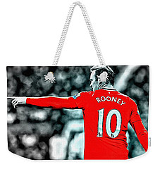 Wayne Rooney Poster Art Weekender Tote Bag