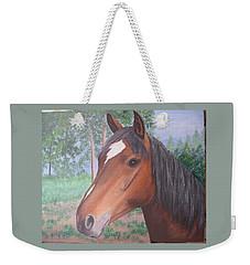 Wayne's Horse Weekender Tote Bag
