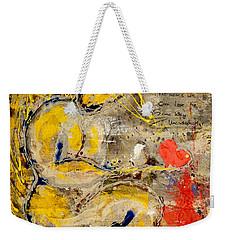 We All Bleed The Same Color IIi Weekender Tote Bag