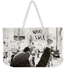 We Believe Weekender Tote Bag