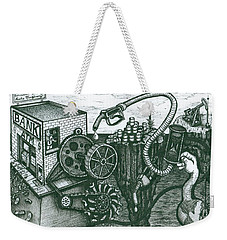 We Have Gas Weekender Tote Bag