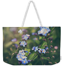 We Lay With The Flowers Weekender Tote Bag