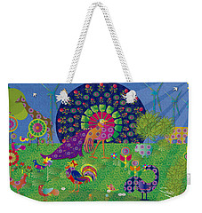 We Live In Harmony - Limited Edition 2 Of 30 Weekender Tote Bag by Gabriela Delgado