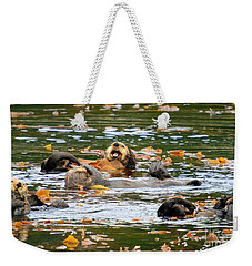 We Otter Be In Pictures Weekender Tote Bag