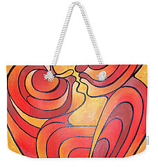 We Two Are One Weekender Tote Bag by Tracey Harrington-Simpson