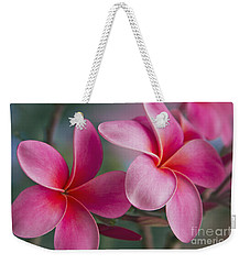 Weekender Tote Bag featuring the photograph We Were Together . . .  by Sharon Mau