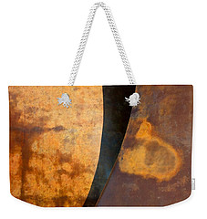 Weathered Bronze Abstract Weekender Tote Bag