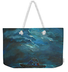 Weathering The Storm Weekender Tote Bag by Leslie Allen