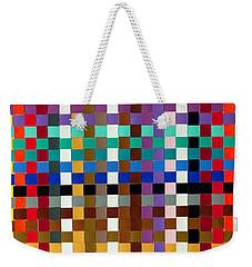 Weave #1 Multi-color Weekender Tote Bag