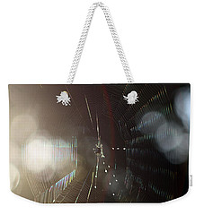 Web Of Flares Weekender Tote Bag by Greg Allore