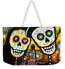 Wedding Dia De Los Muertos Weekender Tote Bag