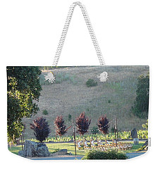Weekender Tote Bag featuring the photograph Wedding Grounds by Shawn Marlow