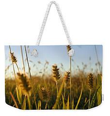 Weekender Tote Bag featuring the photograph Weeds by Joseph Skompski