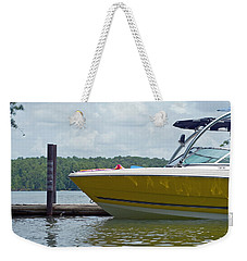Weekender Tote Bag featuring the photograph Weekend Fun by Charles Beeler