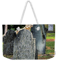 Weeks Cemetery Weekender Tote Bag by Mim White