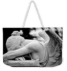 Weeping Angel Weekender Tote Bag by AJ  Schibig