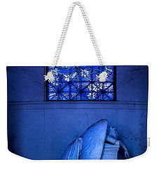 Weeping Angel Weekender Tote Bag