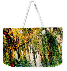 Weeping Willow Tree Painterly Monet Impressionist Dreams Weekender Tote Bag